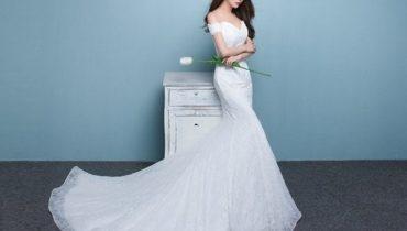Top 8 kiểu tóc cho cô dâu mặc váy đuôi cá