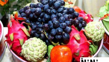 Cách chưng trái cây trên bàn thờ ngày cưới đẹp