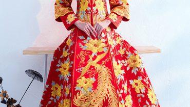 Đẹp Ngất Ngây với 8 bộ váy cưới cổ trang Trung Quốc Top Trend