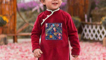 Top 9 mẫu áo dài tết cho bé trai đón xuân 2020