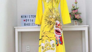 Top 8 mẫu áo dài du xuân, tết 2020 đẹp theo xu hướng mới nhất