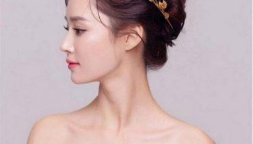 10 kiểu bới tóc búi cô dâu đơn giản mà đẹp